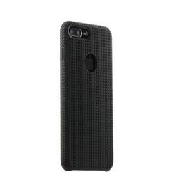 Чехол-накладка силиконовый COTEetCI Vogue Silicone Case для iPhone 8 Plus/ 7 Plus (5.5) CS7025-BK-GY Черный/ Графит