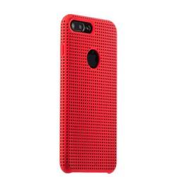 Чехол-накладка силиконовый COTEetCI Vogue Silicone Case для iPhone 8 Plus/ 7 Plus (5.5) CS7025-RD-BK Красный/ Черный