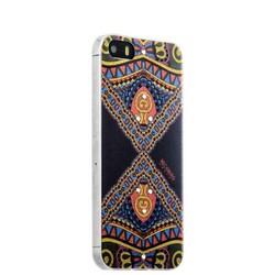 Накладка силиконовая Beckberg Golden Faith series для iPhone SE/ 5s/ 5 со стразами Swarovski вид 13