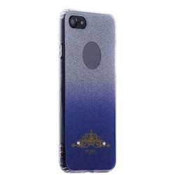 Накладка силиконовая Beckberg Starlight series для iPhone 8/ 7 (4.7) со стразами Swarovski вид 1