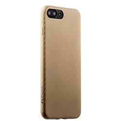 Накладка (карбон) ультра-тонкая Phantom series (HYIIP7-GLD) для iPhone 8 Plus/ 7 Plus (5.5) Золотистая