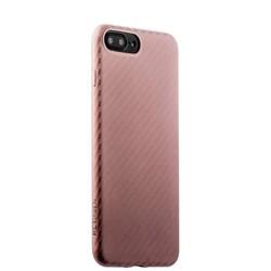 Накладка (карбон) ультра-тонкая Phantom series (HYIIP7-LPK) для iPhone 8 Plus/ 7 Plus (5.5) Розовое золото