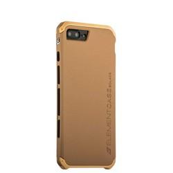 Чехол-накладка Element Case (AL&Pl) для Apple iPhone 8 Plus/ 7 Plus (5.5) Solace Золотистый (золотистый ободок)