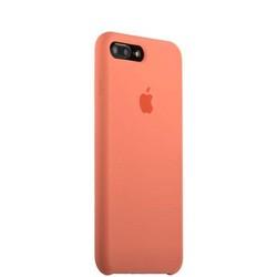Чехол-накладка силиконовый Silicone Case для iPhone 8 Plus/ 7 Plus (5.5) Flamingo Персиковый №27