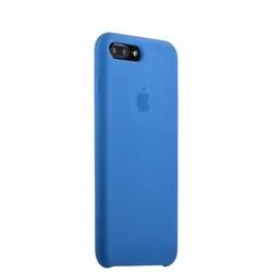 Чехол-накладка силиконовый Silicone Case для iPhone 8 Plus/ 7 Plus (5.5) Saphhire Синий №16