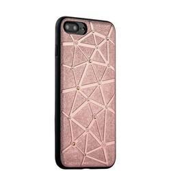 Чехол-накладка силиконовый COTEetCI Star Diamond Case для iPhone 8 Plus/ 7 Plus (5.5) CS7033-MRG Розовое золото