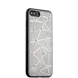Чехол-накладка силиконовый COTEetCI Star Diamond Case для iPhone 8 Plus/ 7 Plus (5.5) CS7033-TS Серебристый