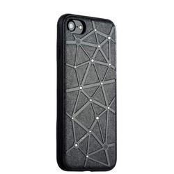 Чехол-накладка силиконовый COTEetCI Star Diamond Case для iPhone 8/ 7 (4.7) CS7032-BK Черный