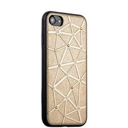 Чехол-накладка силиконовый COTEetCI Star Diamond Case для iPhone 8/ 7 (4.7) CS7032-GD Золотистый