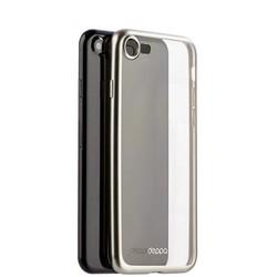 Чехол-накладка силикон Deppa Gel Plus Case D-85282 для iPhone 8/ 7 (4.7) 0.9мм Серебристый матовый борт
