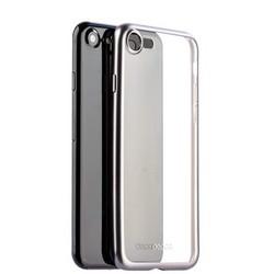 Чехол-накладка силикон Deppa Gel Plus Case D-85283 для iPhone SE (2020г.)/ 8/ 7 (4.7) 0.9мм Графитовый матовый борт