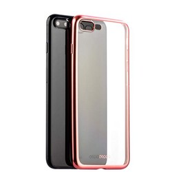 Чехол-накладка силикон Deppa Gel Plus Case D-85290 для iPhone 8 Plus/ 7 Plus (5.5) 0.9мм Розовое золото матовый борт