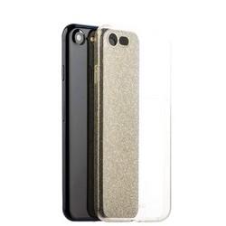 Чехол-накладка силикон Deppa Chic Case с блестками D-85297 для iPhone 8/ 7 (4.7) 0.8мм Золотистый