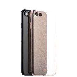 Чехол-накладка силикон Deppa Chic Case с блестками D-85299 для iPhone 8/ 7 (4.7) 0.8мм Розовое золото