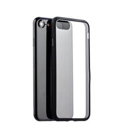 Чехол-накладка силикон Deppa Neo Case супертонкий D-85279 для iPhone SE (2020г.)/ 8/ 7 (4.7) 0.3мм Черный борт