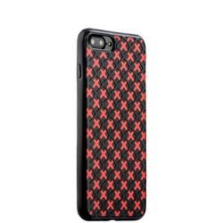Чехол-накладка силиконовый COTEetCI College Case для iPhone 8 Plus/ 7 Plus (5.5) CS7036-BR Черно-красный