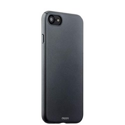 Чехол-накладка пластик Soft touch Deppa Air Case D-83269 для iPhone SE (2020г.)/ 8/ 7 (4.7) 1мм Графитовый