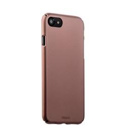Чехол-накладка пластик Soft touch Deppa Air Case D-83271 для iPhone 8/ 7 (4.7) 1мм Розовое золото