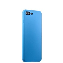 Чехол-накладка силикон Soft touch Deppa Gel Air Case D-85274 для iPhone 8 Plus/ 7 Plus (5.5) 0.7мм Голубой