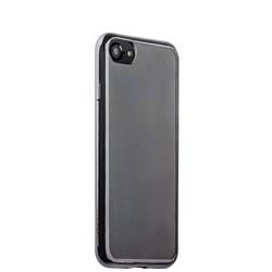 Чехол-накладка силикон Deppa Gel Plus Case D-85255 для iPhone 8/ 7 (4.7) 0.9мм Графитовый глянцевый борт