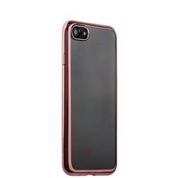 Чехол-накладка силикон Deppa Gel Plus Case D-85257 для iPhone 8/ 7 (4.7) 0.9мм Розовое золото глянцевый борт