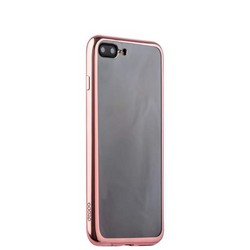 Чехол-накладка силикон Deppa Gel Plus Case D-85262 для iPhone 8 Plus/ 7 Plus (5.5) 0.9мм Розовое золото глянцевый борт