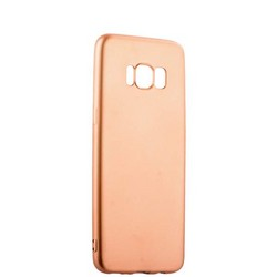 Чехол-накладка силиконовый J-case Delicate Series Matt 0.5mm для Samsung Galaxy S8 Розовое золото