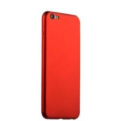 Чехол-накладка силиконовый J-case Delicate Series Matt 0.5mm для iPhone 6s Plus/ 6 Plus (5.5) Красный