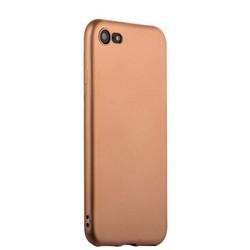 Чехол-накладка силиконовый J-case Delicate Series Matt 0.5mm для iPhone SE (2020г.)/ 8/ 7 (4.7) Розовое золото
