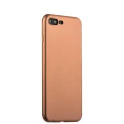 Чехол-накладка силиконовый J-case Delicate Series Matt 0.5mm для iPhone 8 Plus/ 7 Plus (5.5) Розовое золото