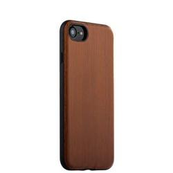 "Накладка (под дерево) XOOMZ для iPhone 8/ 7 (4.7"") Wood Embossed PU (XIP706brown) Коричневая"