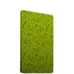 "Чехол-подставка Deppa Wallet Onzo для Apple iPad Pro (9.7"") с тиснением (PU эко-кожа) 1.0мм D-88025 Зеленый"