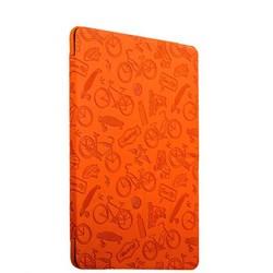 "Чехол-подставка Deppa Wallet Onzo для Apple New iPad (9,7"") 5-6го поколений 2017-2018г.г. с тиснением 1.0мм D-88034 Оранжевый"