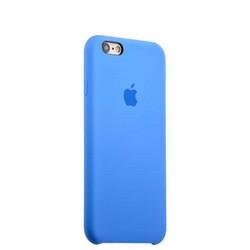 Чехол-накладка силиконовый Silicone Case для iPhone 6s/ 6 (4.7) Saphhire Синий №16