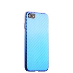 """Чехол-накладка пластиковый J-case Colorful Fashion Series 0.5mm для iPhone 8/ 7 (4.7"""") Голубой оттенок"""