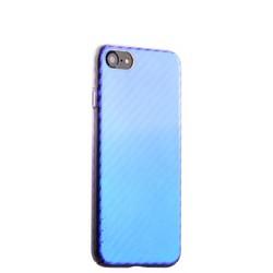 """Чехол-накладка пластиковый J-case Colorful Fashion Series 0.5mm для iPhone 8/ 7 (4.7"""") Фиолетовый оттенок"""