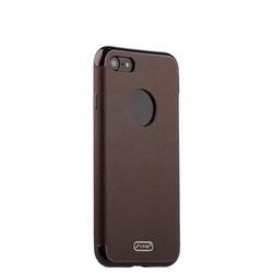 """Чехол-накладка силиконовый J-case Jack Series (с магнитом) для iPhone SE (2020г.)/ 8/ 7 (4.7"""") Коричневый"""