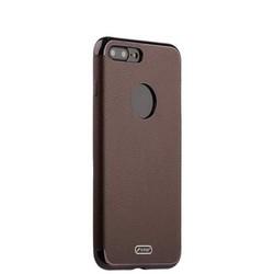 """Чехол-накладка силиконовый J-case Jack Series (с магнитом) для iPhone 8 Plus/ 7 Plus (5.5"""") Коричневый"""