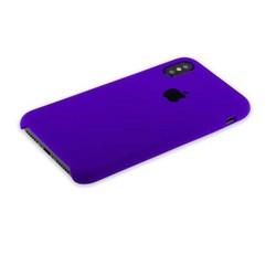 """Чехол-накладка силиконовый Silicone Case для iPhone XS/ X (5.8"""") Ultra Violet Ультрафиолет №30"""