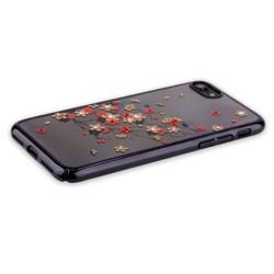 "Чехол-накладка KINGXBAR для iPhone 8/ 7 (4.7"") пластик со стразами Swarovski 49F черный (Веточка)"