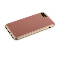 "Чехол-накладка XUNDD пластик Dignity Series для iPhone 8/ 7 (4.7"") кожзам Розовое золото"