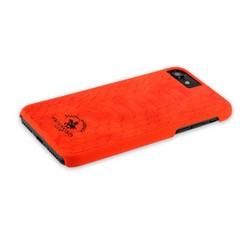 "Накладка кожаная Santa Barbara Polo&Racquet Club Knight Series для iPhone 8/ 7 (4.7"") Красная"