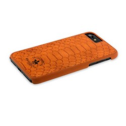 "Накладка кожаная Santa Barbara Polo&Racquet Club Knight Series для iPhone 8/ 7 (4.7"") Коричневая"