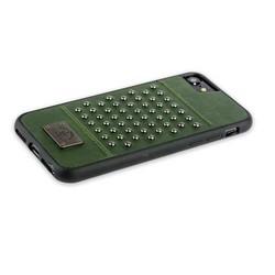 "Накладка кожаная Santa Barbara Polo&Racquet Club Staccato Series для iPhone 8/ 7 (4.7"") Темно-зеленая"