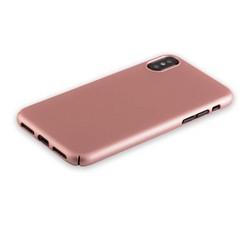 "Чехол-накладка пластик Soft touch Deppa Air Case D-83323 для iPhone XS/ X (5.8"") 1мм Розовое золото"