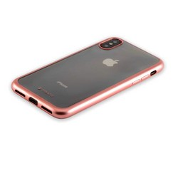 "Чехол-накладка силикон Deppa Gel Plus Case D-85338 для iPhone XS/ X (5.8"") 0.9мм Розовое золото матовый борт"
