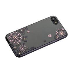 """Чехол-накладка KINGXBAR для iPhone 8/ 7 (4.7"""") пластик со стразами Swarovski 01C черный (Сновидение)"""