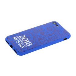 "Чехол-накладка TPU Deppa D-103903 ЧМ по футболу FIFA™ Official Logotype для iPhone 8/ 7 (4.7"") Синий"