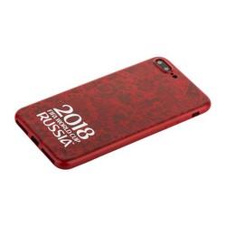 """Чехол-накладка TPU Deppa D-103928 ЧМ по футболу FIFA™ Official Logotype для iPhone 8 Plus/ 7 Plus (5.5"""") Красный"""