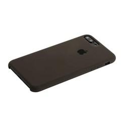 Чехол-накладка силиконовый Silicone Case для iPhone 8 Plus/ 7 Plus (5.5) Charcoat grey Угольно-серый №15